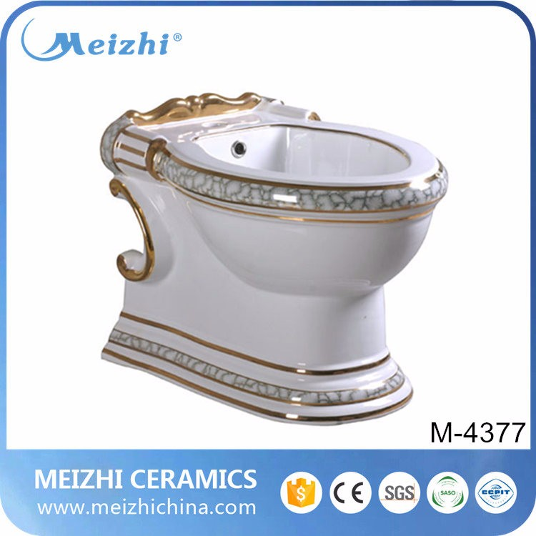 Sanitary ware bathroom toilet water bidet combination