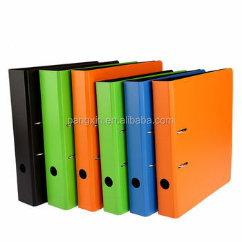 Office usuful different sizes 4 color 3 inch a4 metal double sides pp lever arch file clip