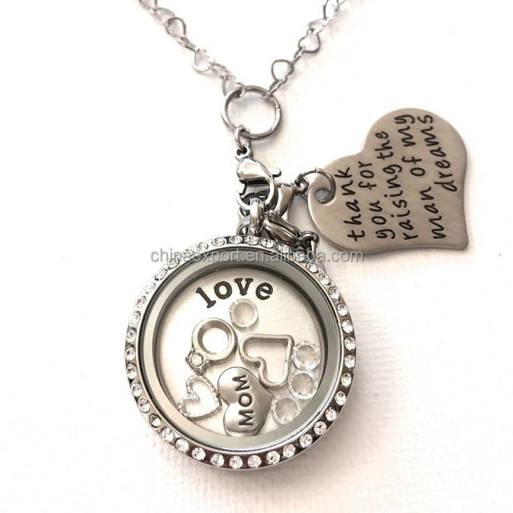 New Arrival Vintage Charms Glass Floating Memory Locket Wholesale