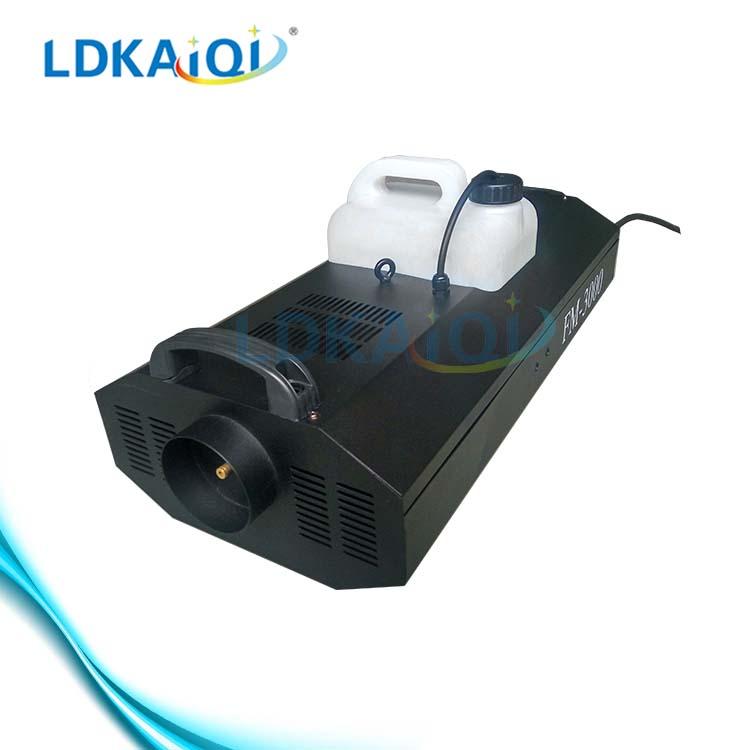 En iyi fiyat 3000w düğün etkisi duman su düşük zemin sis makinesi fabrikası çin