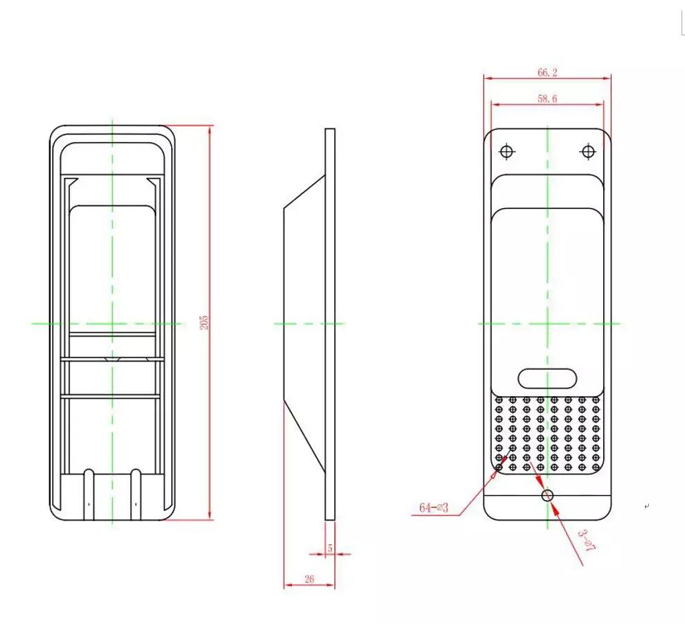 ABS Vent Cover verzending container ventilatie voor verkoop