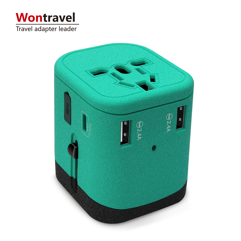Wontravel Own Patent Latest Electronic Gadgets Unique Popular OEM Business <strong>Gift</strong> Ideas Universal Travel Adapter <strong>Gift</strong> Item
