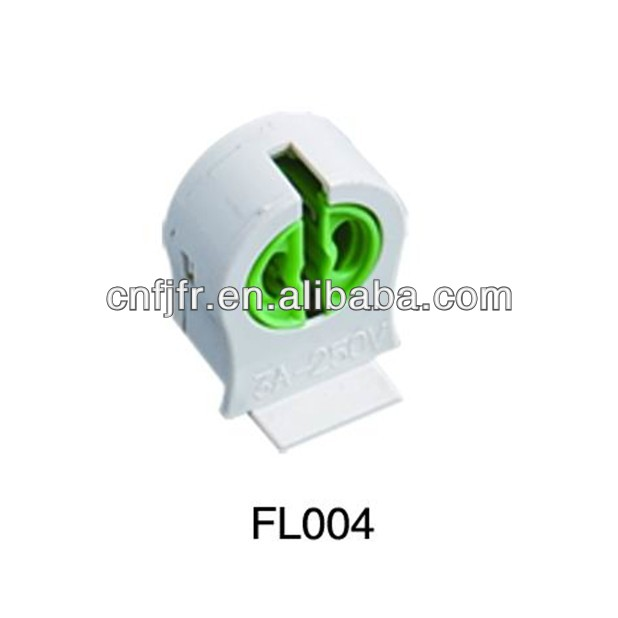 high quality T5 lighting component fluorescent lamp holder