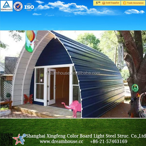 easy install Modern Light Steel Advanced Prefab house/new style cheap tiny houses prefabricated homes