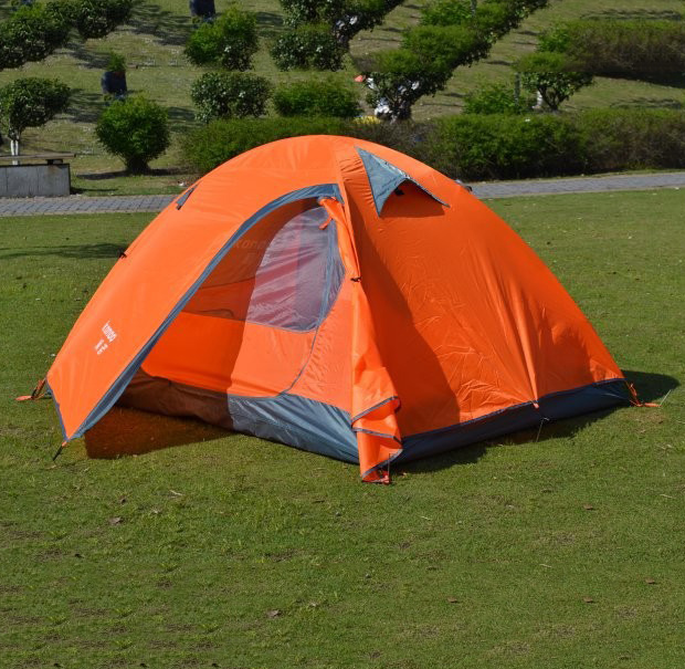 200*150CM Double Person Oxford Orange Waterproof Folding Inflatable Tent C&ing & Buy Cheap China 1 person canvas tent Products Find China 1 person ...