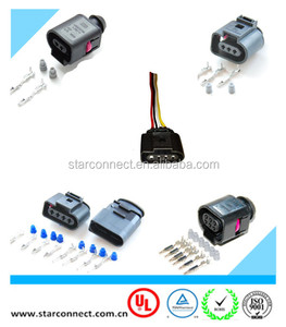 factory hot sale 2 pin 4 pin 6 pin auto ignition FEP waterproof connector for VW