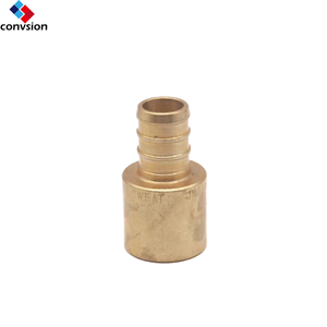 Best selling water hose connecter pipe fitting 2-way lead free brass sweat adapters