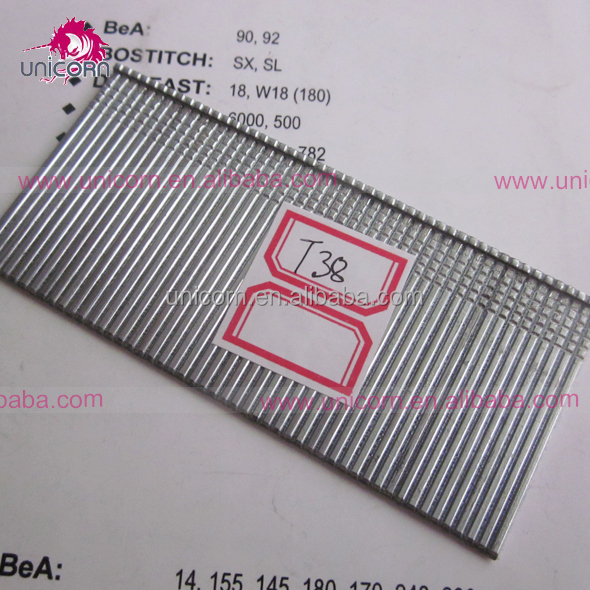 meite High Quality Industrial grade straight nails 16gauge T brad nails 15-50mm Direct Manufacturer