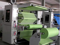 QTL Type Nonwoven Fabric Bag Flexographic Printing Machine 2 Colour Printing Machine (Roll to Roll)