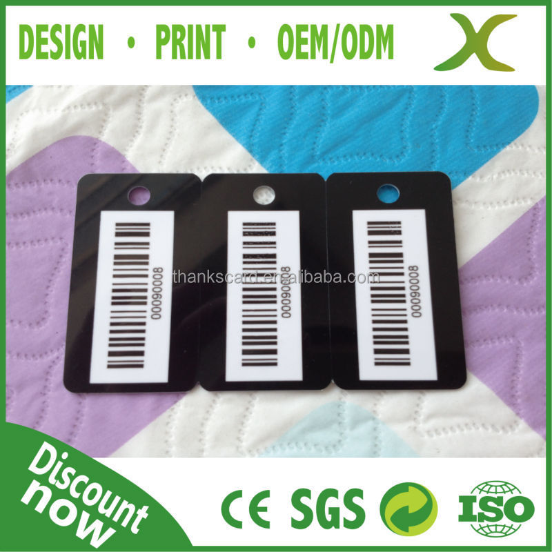 Free Design~~~!!! Free Sample Loyalty card/Member ID card /Barcode Keychain PVC Cards