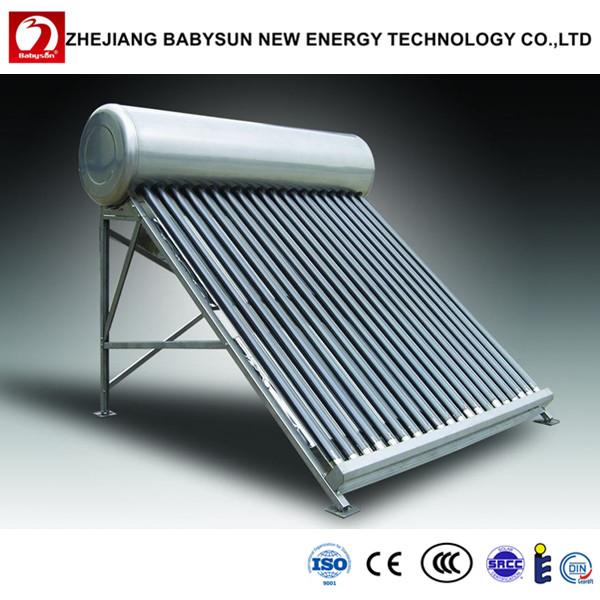 chauffe eau solaire non pressurise