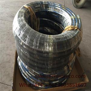 Factory wholesale steel wire braid hydraulic hose 2st pressure rubber industrial pipe