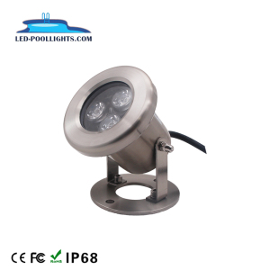 IP68 3W 6W 9W Led Underwater Lamp 12V 24V RGB DMX Swimming Pool Outdoor LED Spot Light