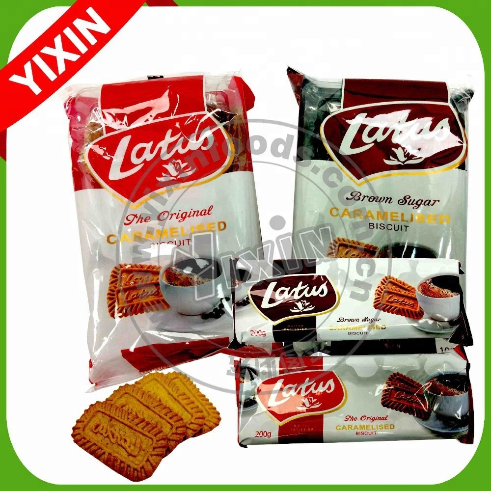 hot-selling Cheap caramelized lotus biscuits
