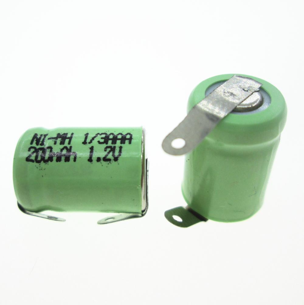 NEW 1/3AAA 1.2V 200mah NI-MH nimh rechargeable battery 1/3AAA 200mah 1.2V Nickel metal hydride bluetooth headset battery