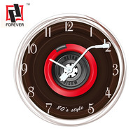 Country Style Wooden Silent Movement description for a wall clock