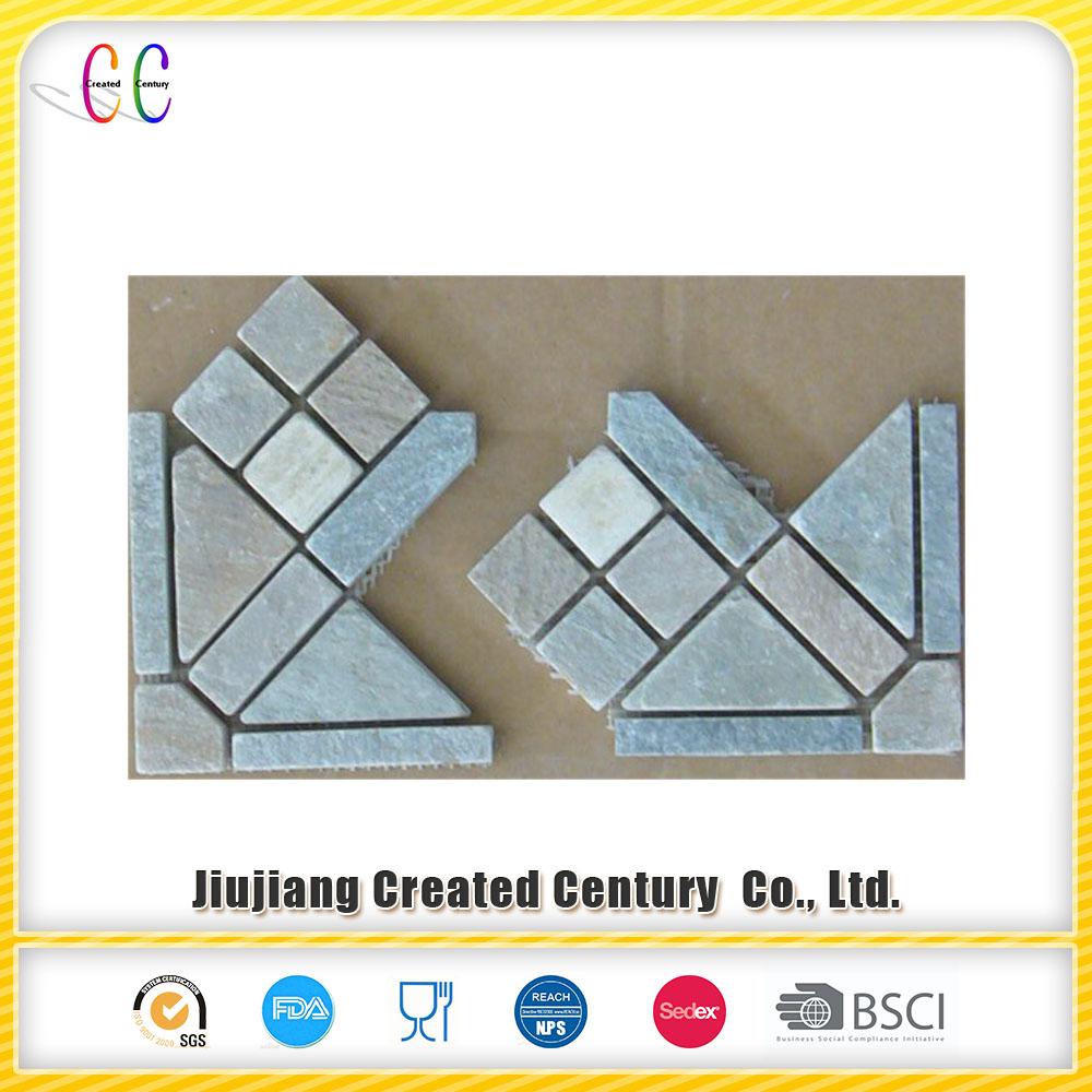 Slate Mosaic Wall Tile Corner - Buy Slate Mosaic Wall Tile Corner ...