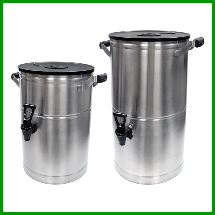 Stainless Steel Hot Cold Beverage Dispenser With Tap