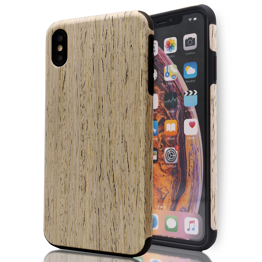 Laudtec Private Luxury Wooden PU Phone <strong>Case</strong> For iPhone X,XS,XR,XS Max Mobile Phone Shell