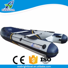 Aluminum Hull Material and CE Certification Outboard Engine High Performance Inflatable Pontoon Fishing Boat with Prices