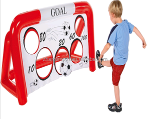 Novelty Inflatable football goal with EN71 approval
