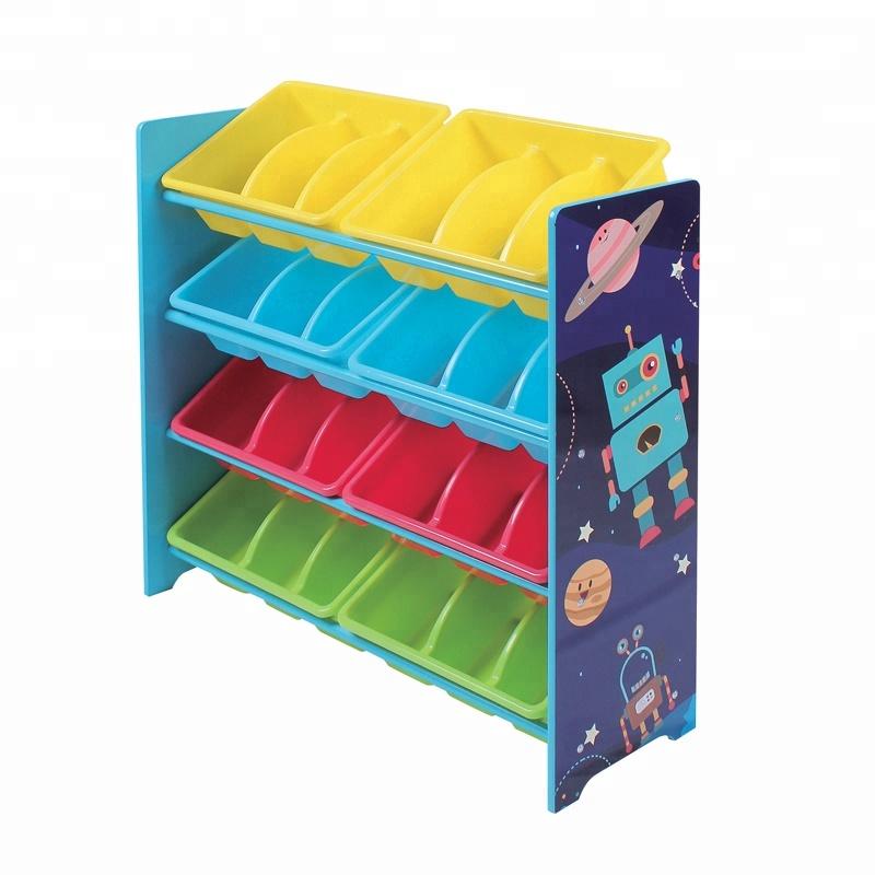 Kids Toy Organizer Plastic Bins