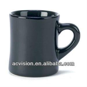Bulk Black Coffee Mug 6oz Plain