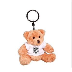 Plus bear with T-shirt key chain
