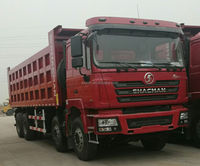 stock Shacman F3000 8*4 dump truck for export for sale SX3315DT366