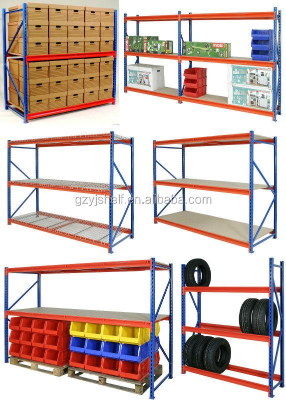 Medium Duty Warehouse Rack In High Quality Movable Shelf Storage Racks Pallet Racking