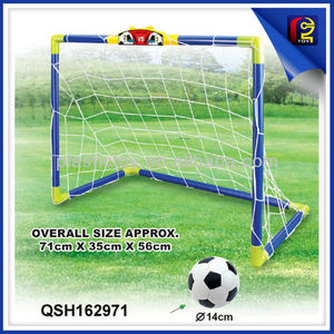 football goal Promotion kids toy mini soccer goal set QSH162971