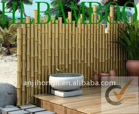 mur de bambou cl ture pour la d coration de jardin cl tures treillis et portails id de produit. Black Bedroom Furniture Sets. Home Design Ideas