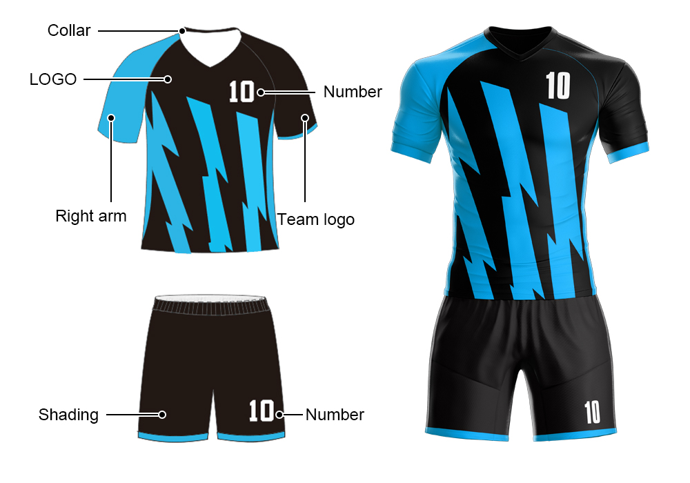 M-W Olahraga Merek Jerseys Custom Football Kaus Perusahaan Permainan Memakai Pertandingan Sepak Bola Kiper Kit