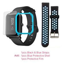 Молодежные Смарт-часы Amazfit Bip на английском языке Huami, gps, Android iOS, монитор сердечного ритма, срок службы батареи 45 дней IP68(Китай)