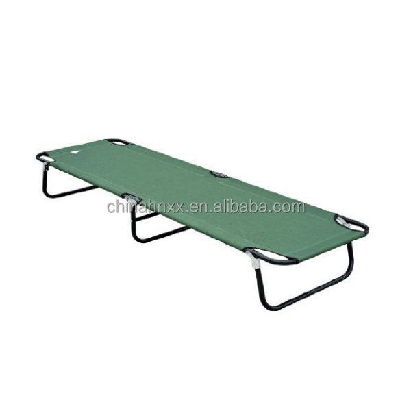 Military aluminum folding cot sleeping