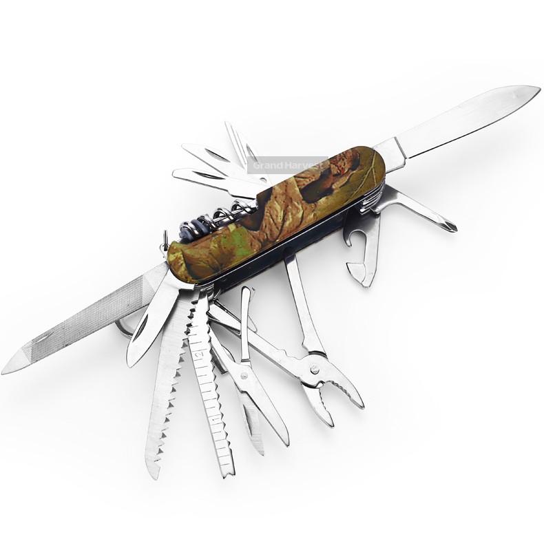 Free Sample New Camo Swiss Knife With Flashlight - Buy Grand ...