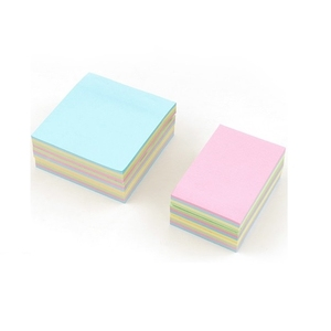 Colorful custom 3 x 3 sticky notes