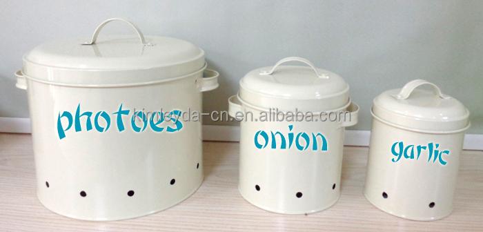 Potatoes Onions Garlics Storage Bins