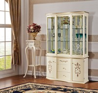 Dinning Room Solid Kitchen Buffet Sideboard Wooden Cabinet