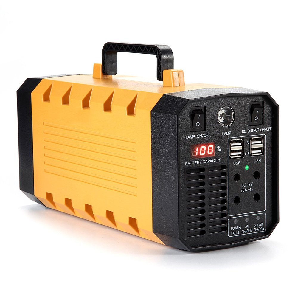 Cheap Car Battery Generator Find Deals On Home Power Supply Portable Solar Inverter Get Quotations Bchocks 500w 288wh 26ah Ups Backup Parts Emergency For Cpap