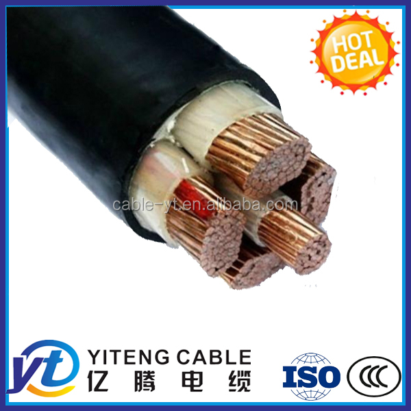 PVC or XLPE Insulation 5x16 power copper cable 5x16 electric copper cable