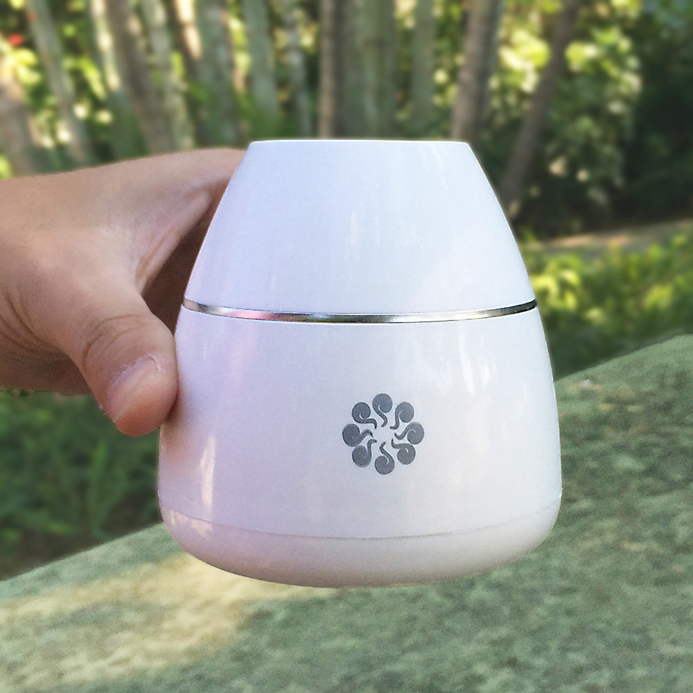 Nebulizing Essential Oil Diffuser Waterless Portable Glass Aromatherapy Diffuser