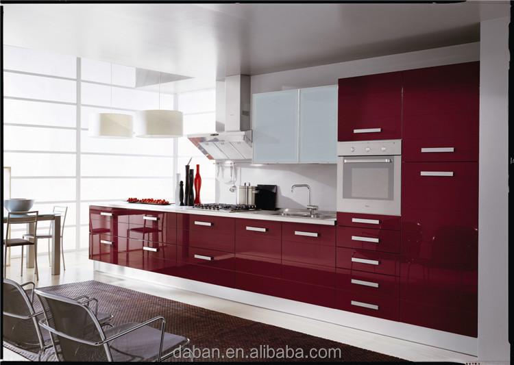 moderna cocina de diseo italiano moderno alto brillo mueble cocina