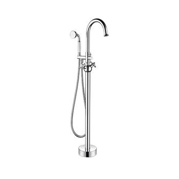 Artisan High Level Brass Chrome Plated Bath Shower Mixer Faucet