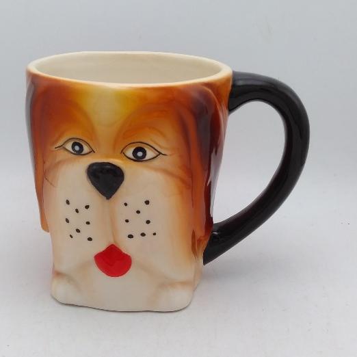 Unicorn Hand Painted 16oz 3D Stoneware Coffee Mug by Tag