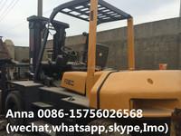 Japanese forklift 8 ton, cheap price TCM forklift FD80