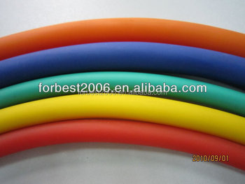 Natural latex rubber tube,Rubber fitness latex tube