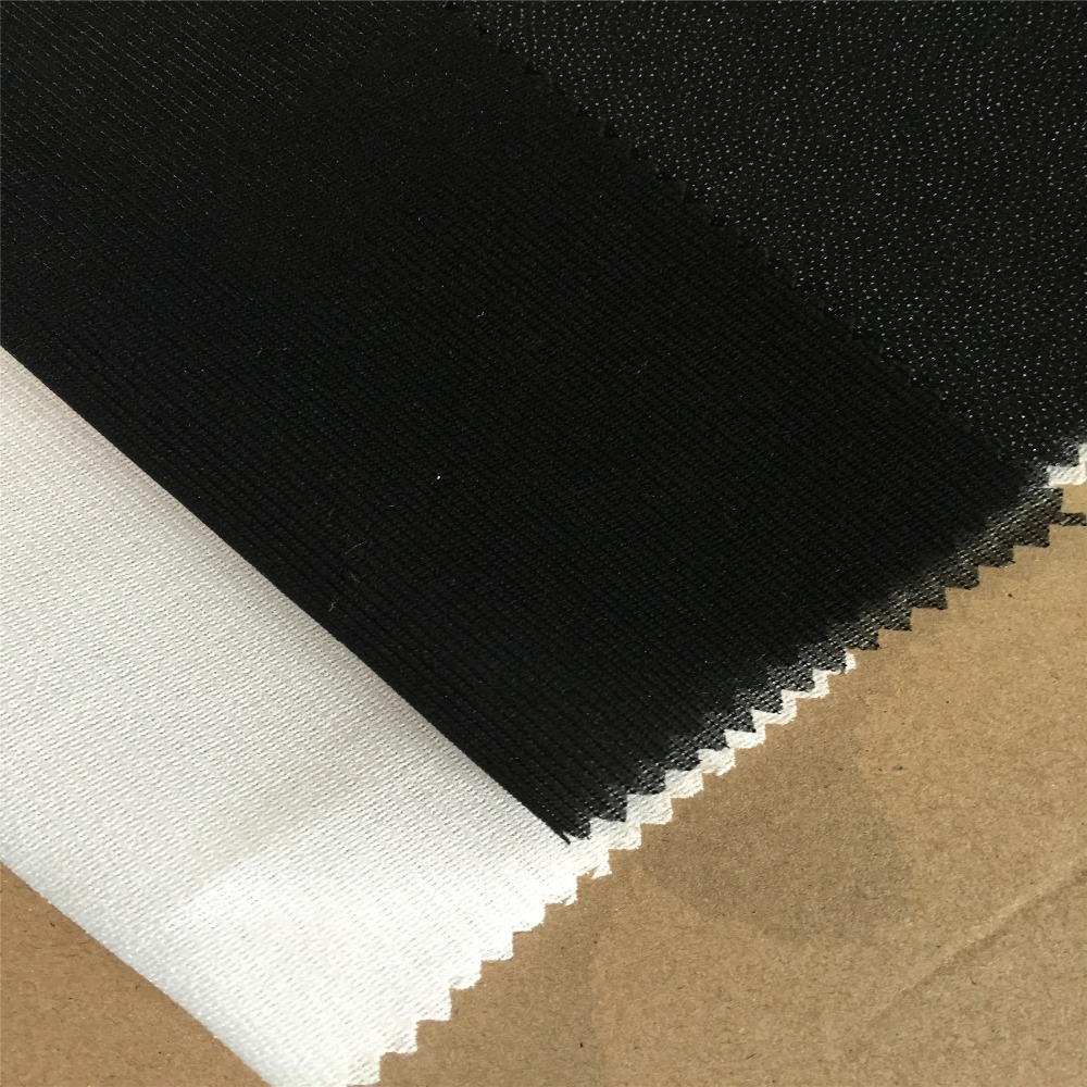 Polyester fusible interlining woven interlining fabric for men's suit/jacket