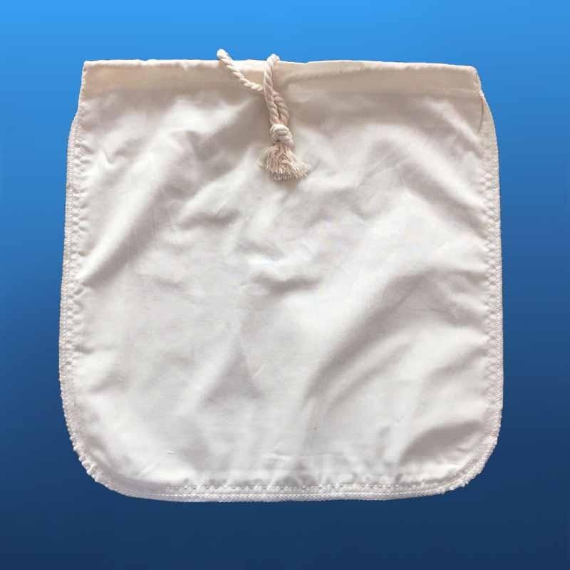 FDA Organic Hemp Fabric Nut Milk Bags/cotton nutmilk filter bag