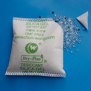 High Absorption Self-Indicating Silica Gel Desiccant with Dust-proof Fabric